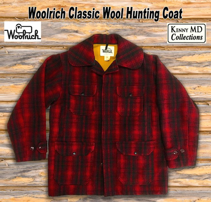 Woolrich Classic Wool Hunting Coat