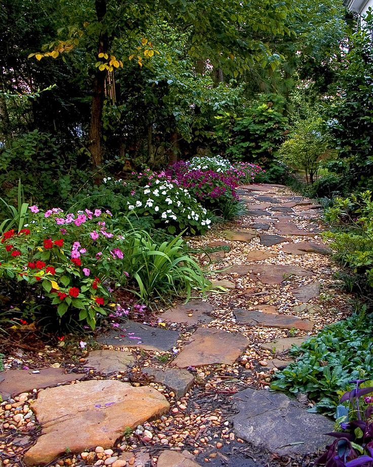 Whether they lead to a deck or a flower garden, walkways should be part of the design scheme for an outdoor living space. Description from warmlyyours.com. I searched for this on bing.com/images