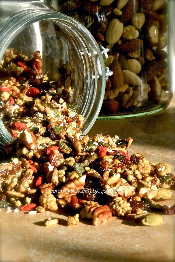 Puur & Lekker leven volgens Mandy: Superfood Cruesli (glutenvrij)