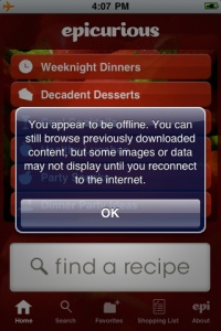 9. Help users recognize, diagnose, and recover from errors  Error messages should be expressed in plain language precisely indicating the problem and solution.  Example: Epicurious explains what content may be available when users are offline.