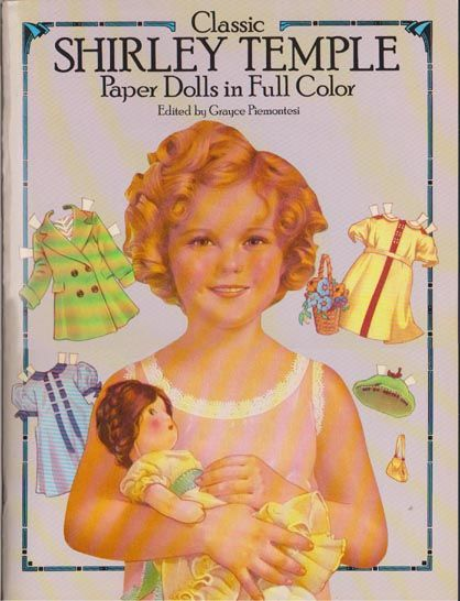1986 Dover Classic Shirley Temple Paper Dolls