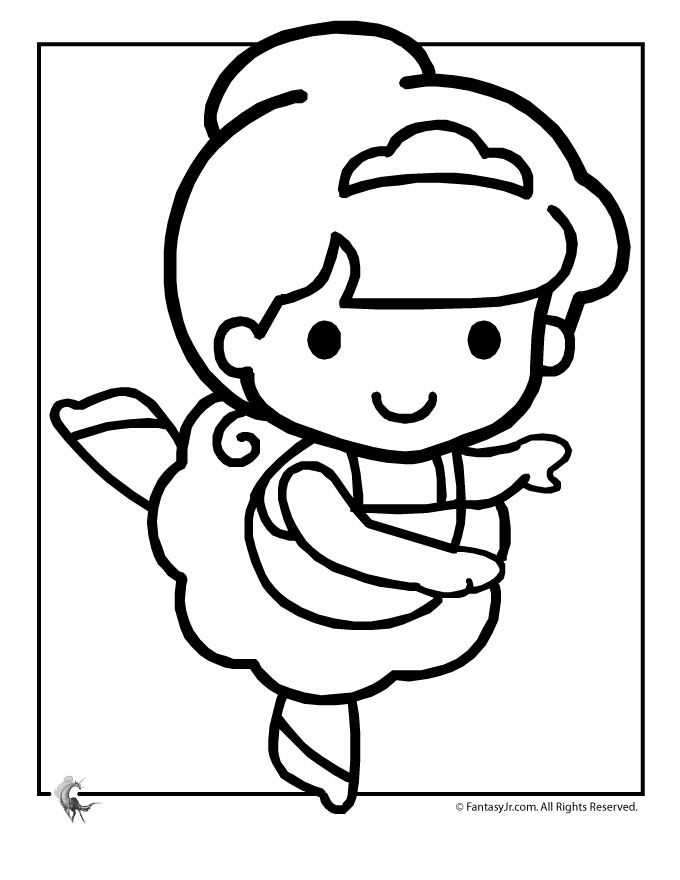 ballet coloring pages for kids - photo#30