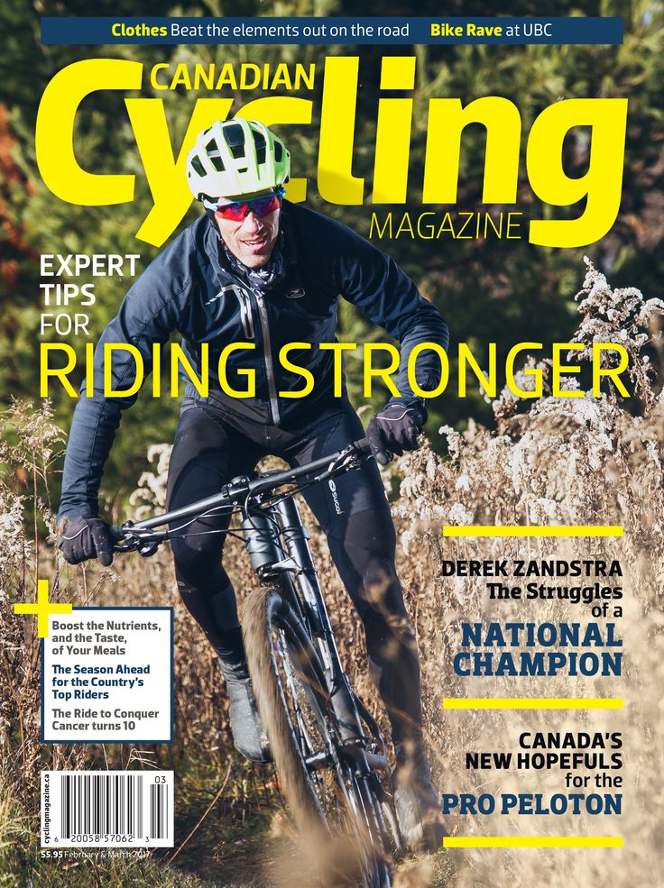 Cyclists choose Canadian Cycling Magazine for the latest bicycling news, views and reviews.