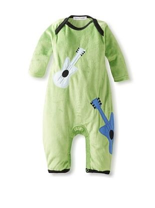 30% OFF Rumble Tumble Baby Guitar Plush Coverall (Green)