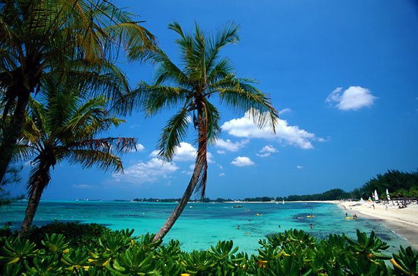 Bahamas... nuf said.