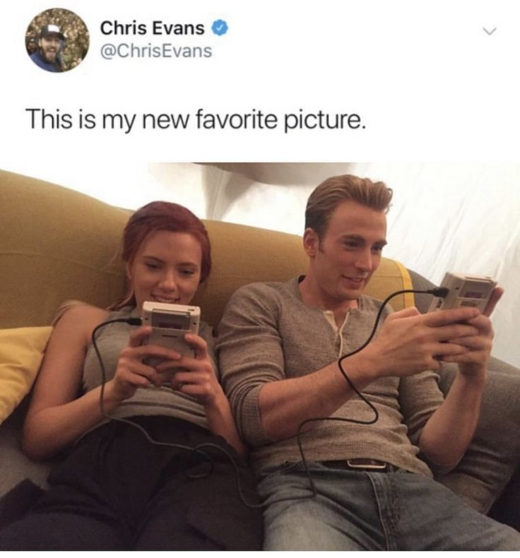 Mine too Chris!!! Mine too. I adore and ship the hell out of you two dorks.