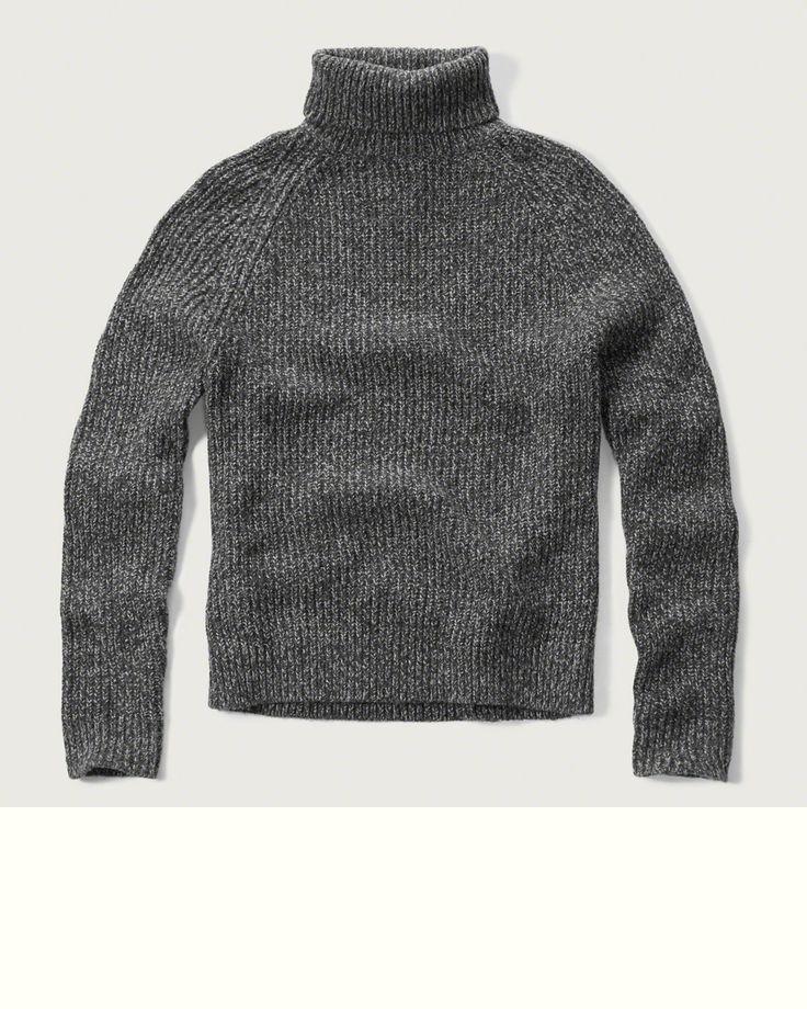 Mens Turtleneck Sweater   Mens Tops   Abercrombie.com