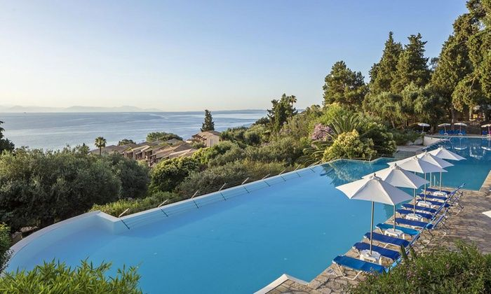 Bargain Late Holidays - Corfu: ✈ Corfu: 3, 5 or 7 Nights with All Inclusive and Flights at 4* Aelos Beach Resort*