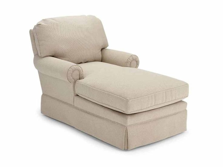 Two Armed Chaise Lounge Chair
