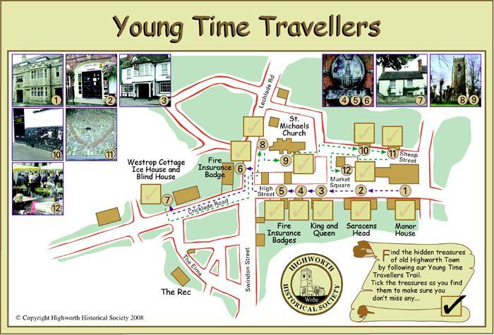 Children's Town Trail of Highworth, Wiltshire