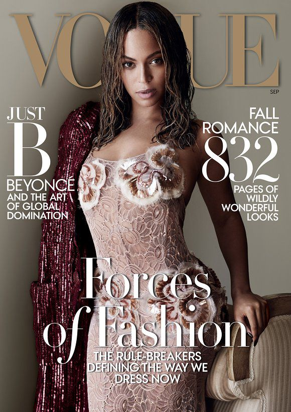 Vogue  Magazine's Black Cover Models