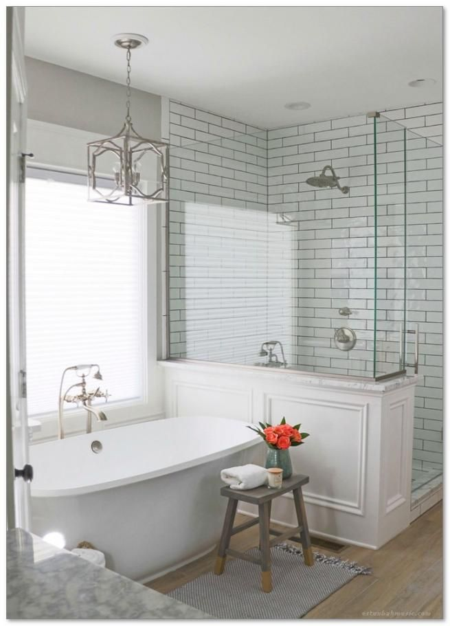 40 enchanting urban farmhouse master bathroom remodel ideas rh pinterest ca