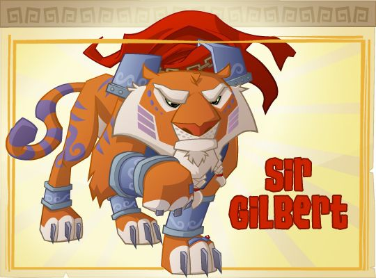Animal Jam Sir Gilbert