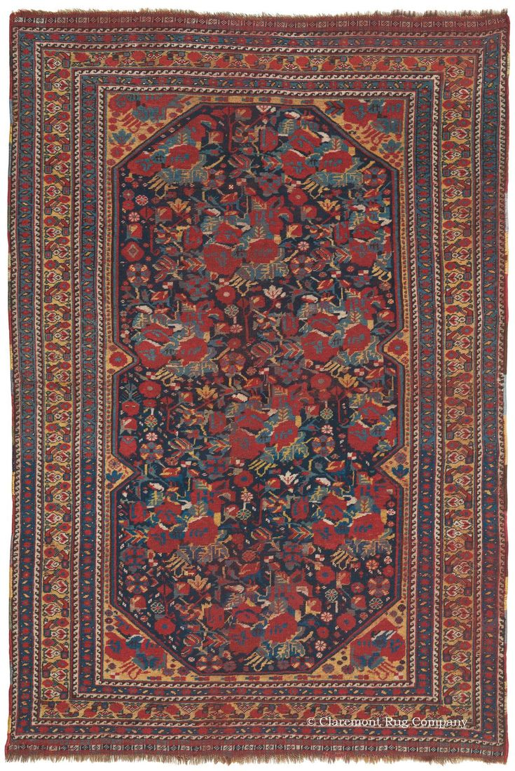 Qashqai Southwest Persian 4ft 5in X 6ft 8in 3rd Quarter 19th Century From A