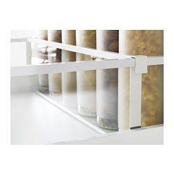 IKEA - MAXIMERA, Divisorio per cassetto alto, 40 cm, , Puoi sfruttare lo spazio in base alle tue esigenze grazie ai divisori regolabili.Una soluzione flessibile per organizzare e tenere a portata di mano le spezie e i condimenti.