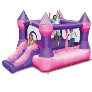 Pink Medium Jumping Castle