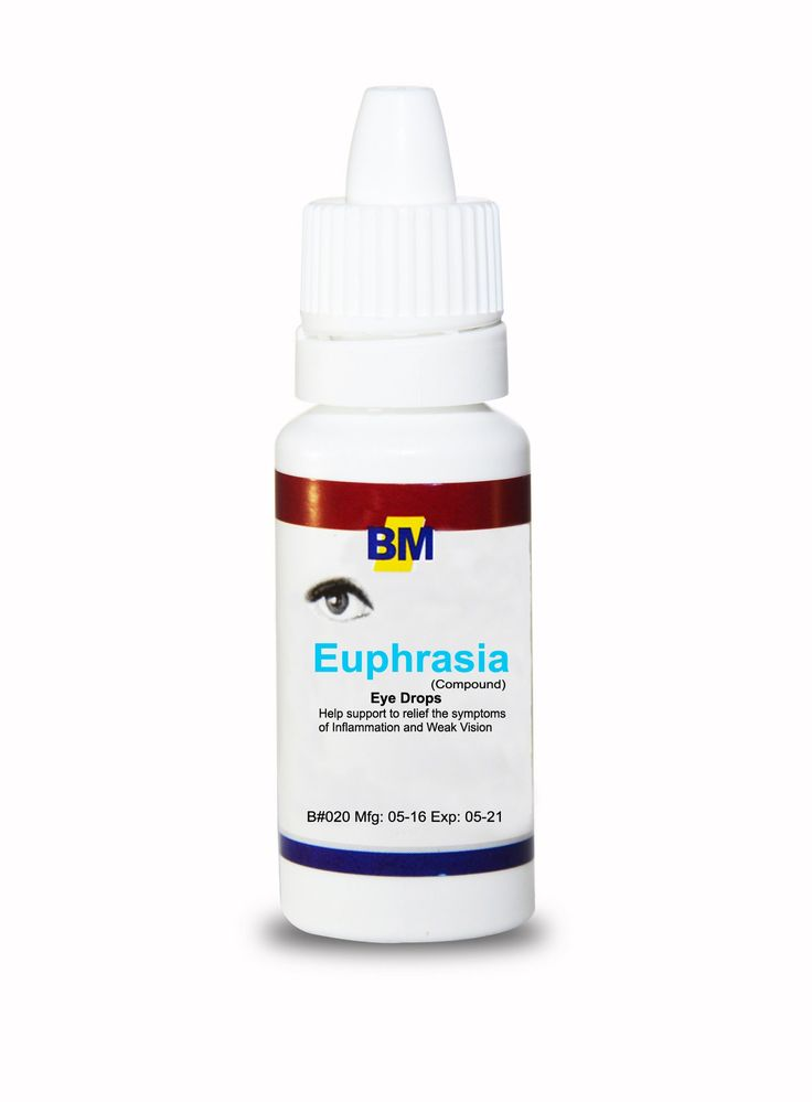 Natural Eye Liquid Drops | Euphrasia Drops For Sensitive Eyes | Ideal For Redness Relief, Vision Clarity, Purulent Discharge, Itchy Eyes, Eyelid Inflammation & More | Safe For All
