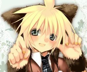 Anime Blonde Hair Neko Neko Boy Pinterest Best