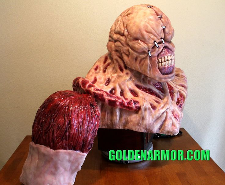 Resident Evil NEMESIS Costume PROJECT - Nemesis - Prop Replicas, Custom Fabrication, SPECIAL EFFECTS