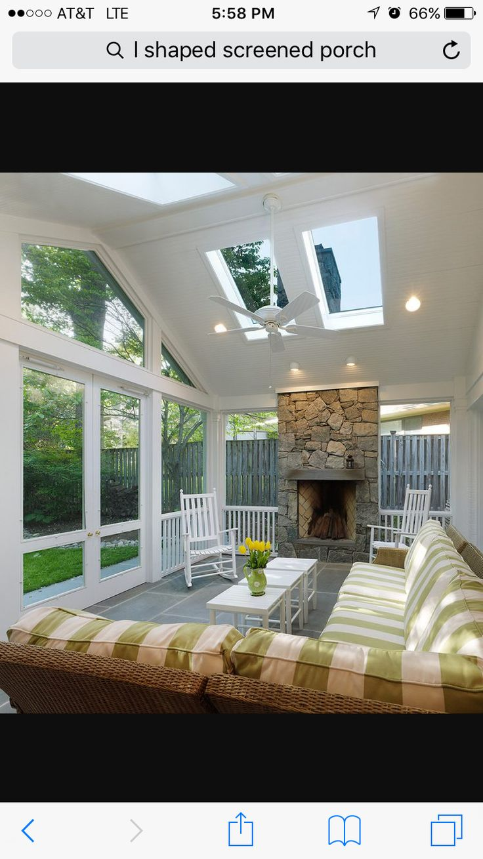 Porches, Yards, Front Porches, Porch, Yard, Verandas, Porticos, House  Gardens, Sunrooms