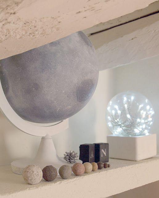 miramira : Cambiando el mundo / DIY Luna #moon #DIY #decor