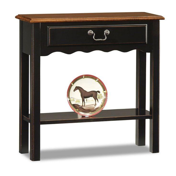 Leick Furniture Two-Tone Table, Multicolor
