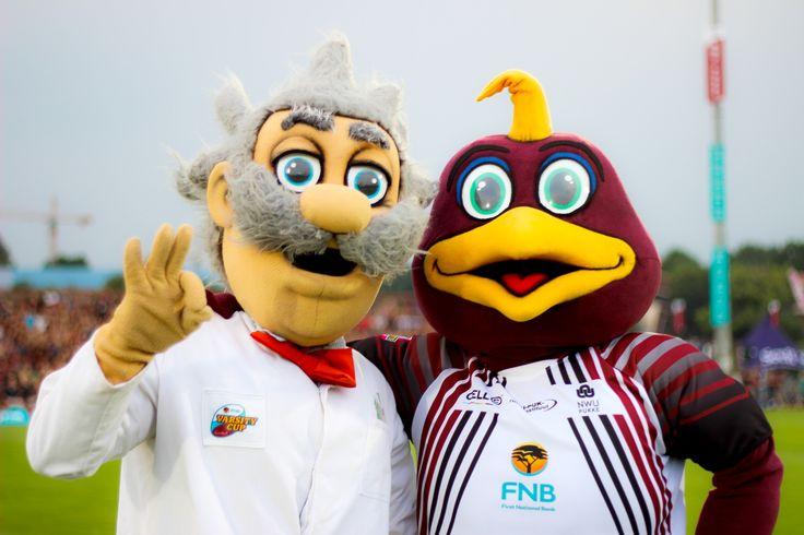 Pukki en Prof tydens #varsitycup2014