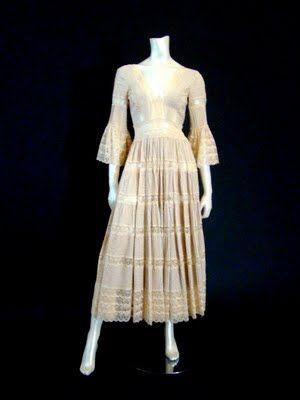 Mexican Wedding Dress @ Shrimpton Couture