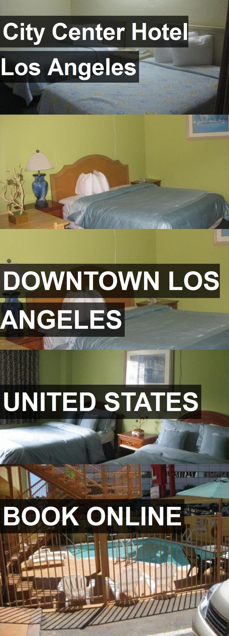 City Center Hotel Los Angeles in Downtown Los Angeles, United States. For more information, photos, reviews and best prices please follow the link. #UnitedStates #DowntownLosAngeles #travel #vacation #hotel