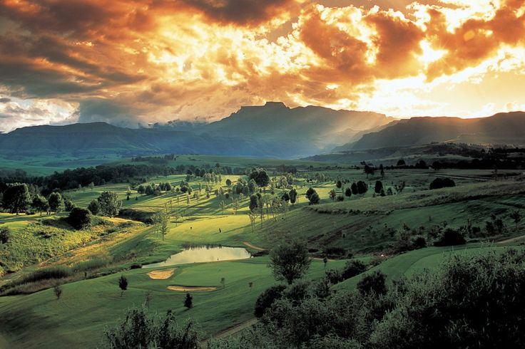 NO 10. CHAMPAGNE SPORTS RESORT - SOUTH AFRICA