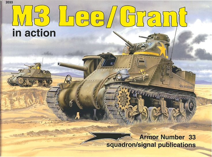 m3 lee grant in action squadron signal ss2033