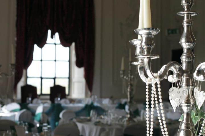 Lumley castle - reception