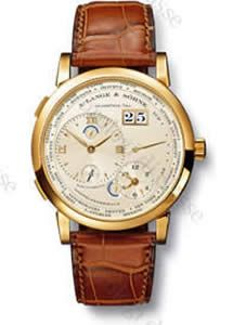 Scheda orologio A. Lange & Söhne LANGE 1 FUSO ORARIO #5355