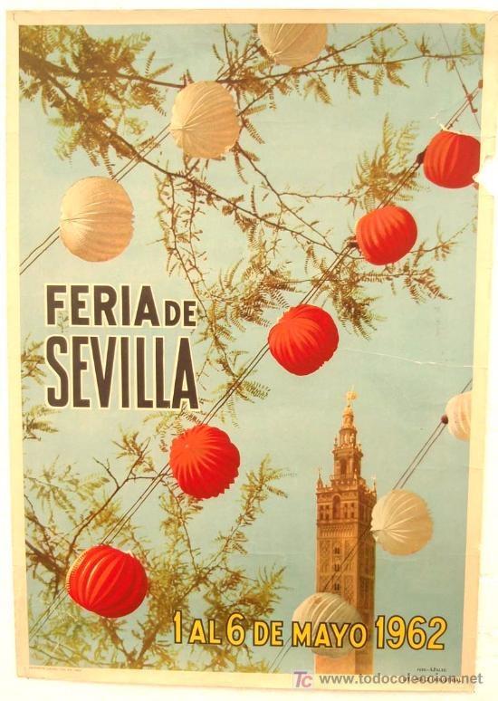 Sevilla. Feria de A bril, 1962.