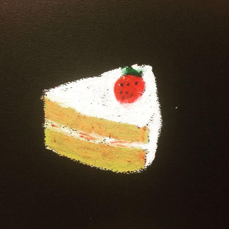 さんかくのケーキ。