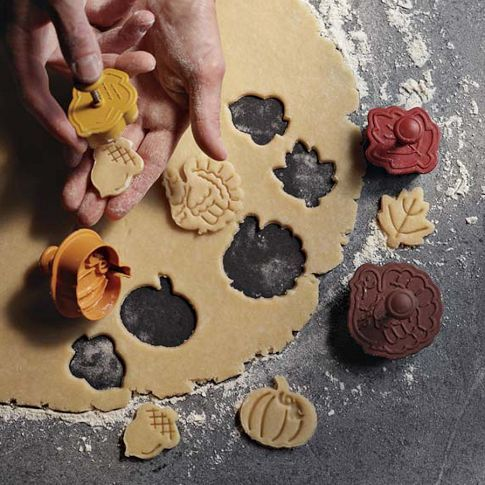 Fall Pie Crust Cutters from Williams - Sonoma