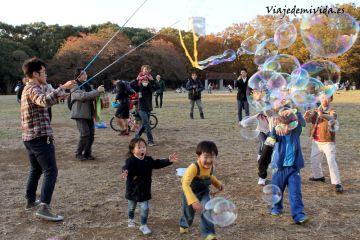 Parque Yoyogi Tokio Japon