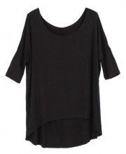 Loose Batwing Short Sleeves T-Shirt