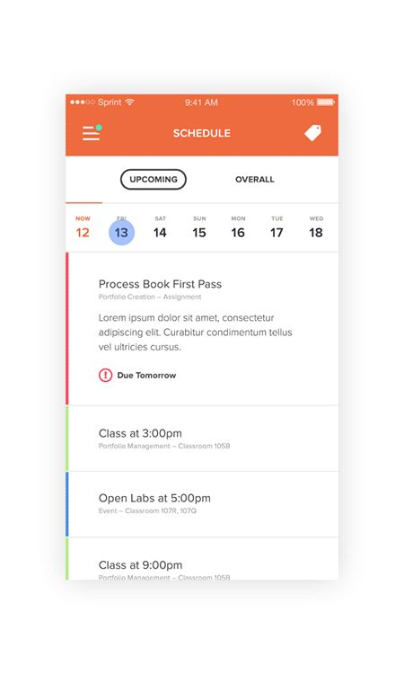 Preflight, Mobile app for productivity on App Design Served