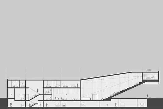 Quarter Cultural Center / Mikolai Adamus,section 01