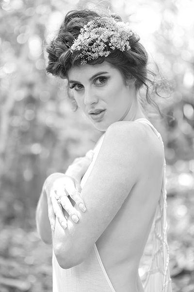 Boho wedding hair and makeup by flurogreystudio.co.nz