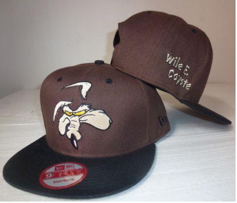 new era trucker hats,new era caps dc shoe , Wile E Coyote Snapback Hat  US$6.9 - www.hats-malls.com