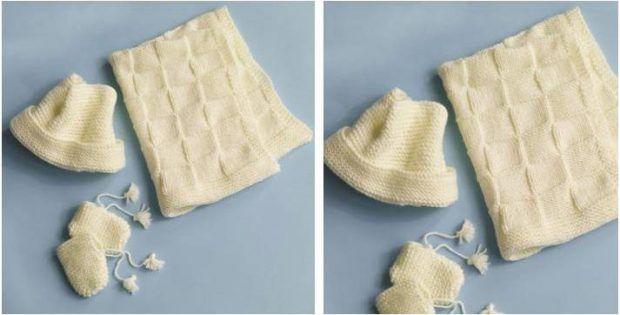 42c29e92f Simply Perfect Knitted Baby Set [FREE Knitting Pattern] | knitting ...