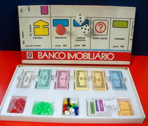 Banco Imobiliário | 60 brinquedos dos anos 80 e 90 que farão você querer inventar uma máquina do tempo