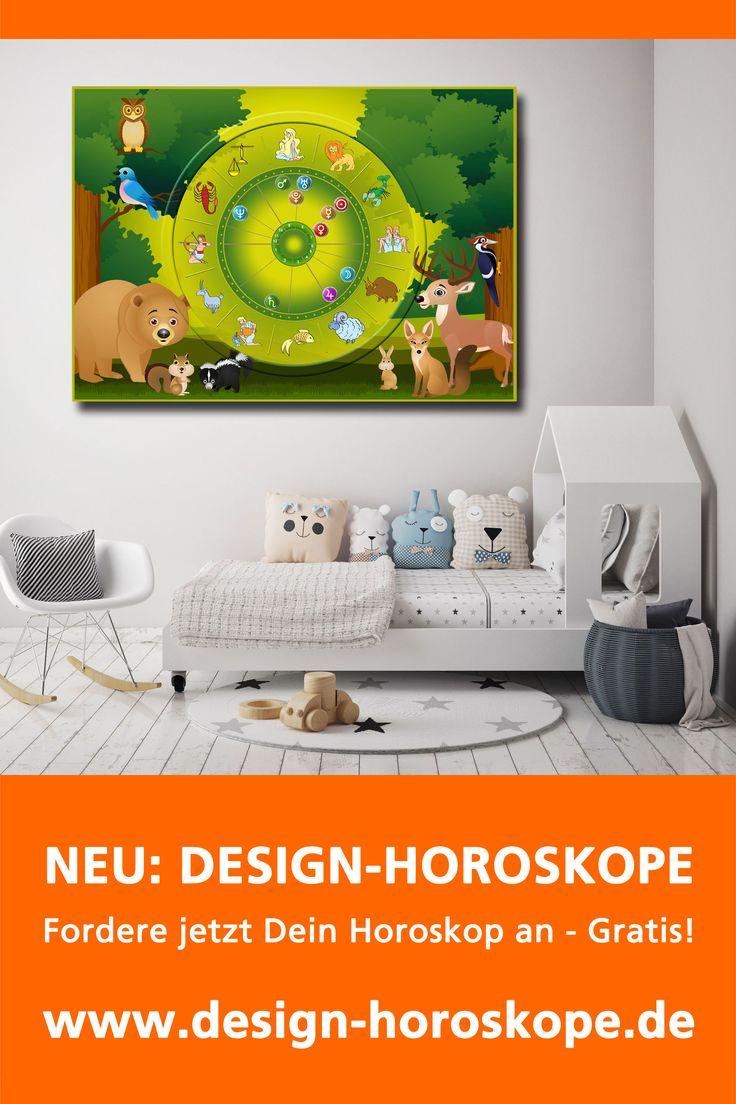 """NEU + GRATIS: das persönlichste Bild fürs Kinderzimmer! . Wähle aus über 200 Horoskop-Designs dein Wunsch-Motiv, gebe die Geburtsdaten deines Kindes ein und erhalte das Design-Horoskop für Dein Kind innerhalb weniger Minuten. . Inklusive umfangreichen und kostenlosen(!) astrologischen Analysen: . - für Kinder - für Erwachsene - über Hunde - über Katzen - zu """"Liebe & Erotik (Frau)"""" - zu """"Liebe & Erotik (Mann)"""""""