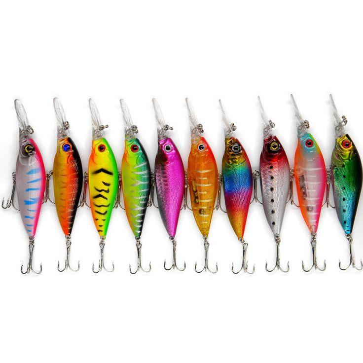 Deep Fishing lures 11cm/11.7g Minnow plastic artificial fish lure wobbler jerk fish pesca fishing tackle carp swimbait