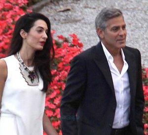 George Clooney et Amal Alamuddin annoncés à Marrakech pour leur lune de miel