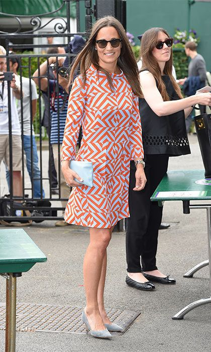 Pippa Middleton and James Matthews make their first high profile outing after over six months of dating.