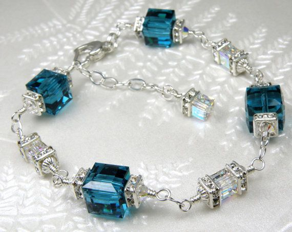 Hey, I found this really awesome Etsy listing at https://www.etsy.com/no-en/listing/156598647/teal-crystal-bracelet-london-blue-topaz