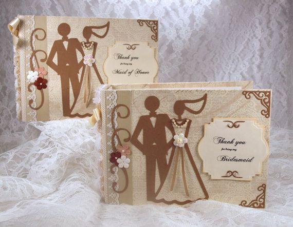 Bridesmaid Thank You Gift Custom Photo Album by ScrapsofLuv, $25.00